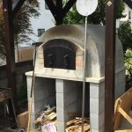 ピザ窯の蓋