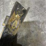 真鍮蝶番の溶接修理